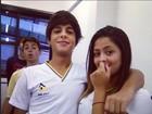 No Twitter, filha de Romário nega estar namorando amigo da escola
