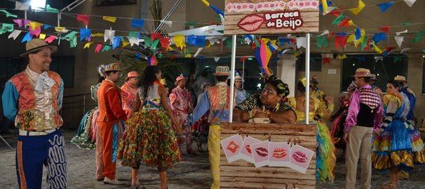 Gravação de VT institucional da TV Sergipe (Foto: TV Sergipe/ Divulgação)