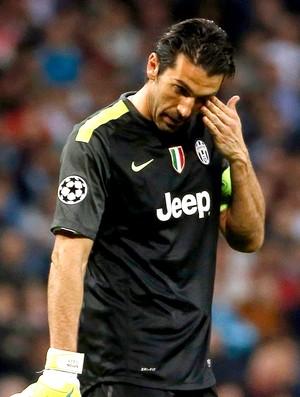 Buffon jogo Juventus e Real Madrid Liga dos Campeões (Foto: Reuters)