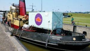 'Barco para abortos' holandês fará primeira visita a país muçulmano (Foto: BBC)