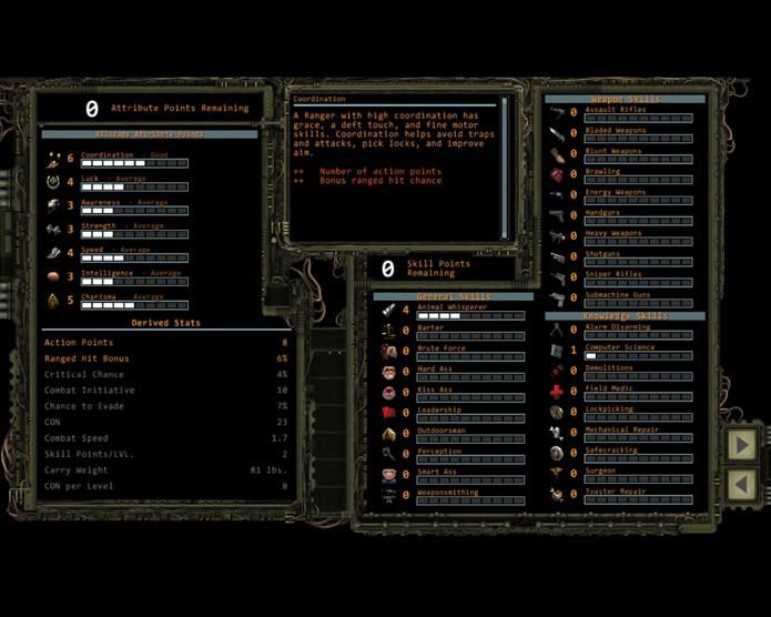 Os jogadores poderão utilizar um assistente completo para construir seus personagens nos mínimos detalhes (Foto: Reprodução/Daniel Ribeiro)