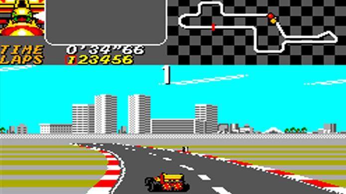 Ayrton Senna e a série Super Monaco GP eram uma combinação perfeita (Foto: Game Oldies)