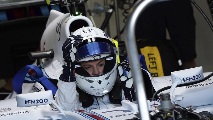 Susie Wolff treino GP da Inglaterra (Foto: EFE)