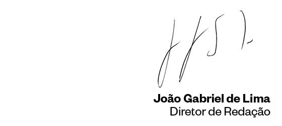 João Gabriel de Lima - Diretor de Redação (Foto: Época )