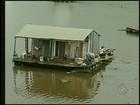 Marinha notifica donos de casas flutuantes na região noroeste paulista