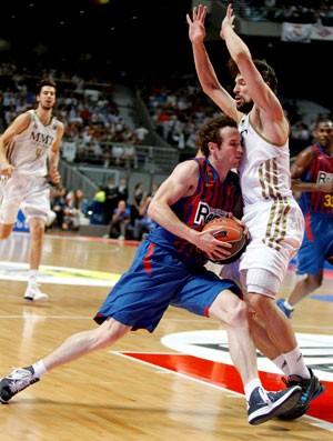 marcelinho huertas basquete real madrid x barcelona (Foto: EFE)