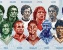 CR7, Iniesta e Buffon são eleitos para  a seleção de todos os tempos da Euro