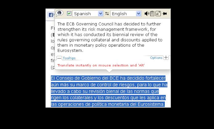 O plugin de tração ImTranslator conta com o banco de dados do Google Tradutor, da Microsoft e do Babylon (Foto: Reprodução/Mozilla Add-Ons)