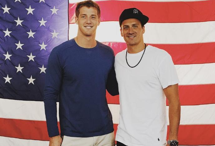 james feigen e Ryan Lochte (Foto: Reprodução / Instagram)