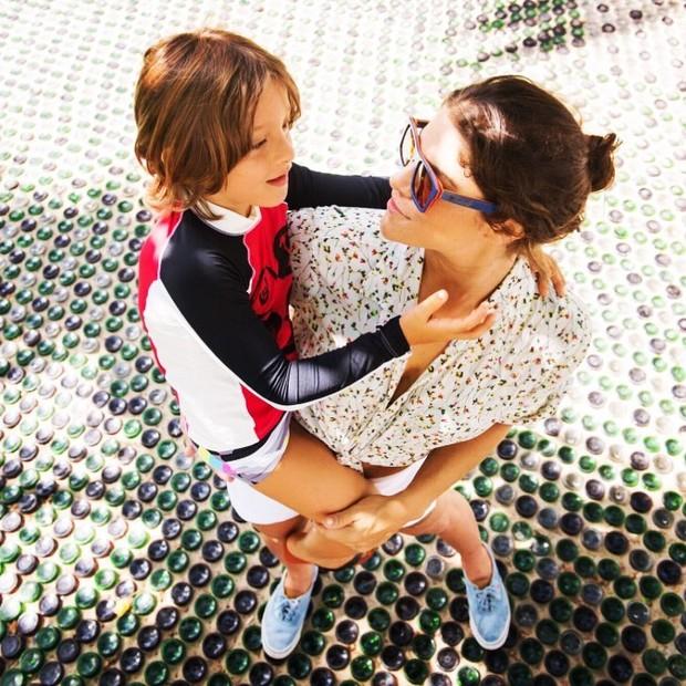 Priscila Fantin e o filho, Romeo (Foto: Reprodução/Instagram)
