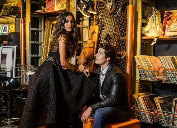 A stylist Rosane Amora foi responsáveis pela produção (Foto: Fabio Cordeiro/QUEM)
