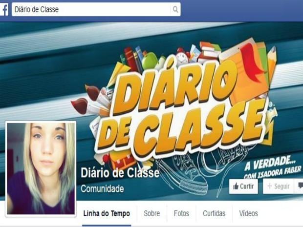Diário de Classe, Isadora Faber (Foto: Reprodução/Facebook)