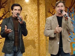 Julinho (à esq.) em apresentação com Jannel (Foto: Divulgação)