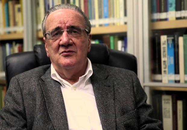 O economista Luiz Gonzaga Belluzzo (Foto: Reprodução/YouTube)
