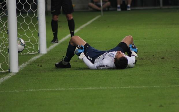 grêmio san lorenzo libertadores arena marcelo grohe (Foto: Diego Guichard/Globoesporte.com)