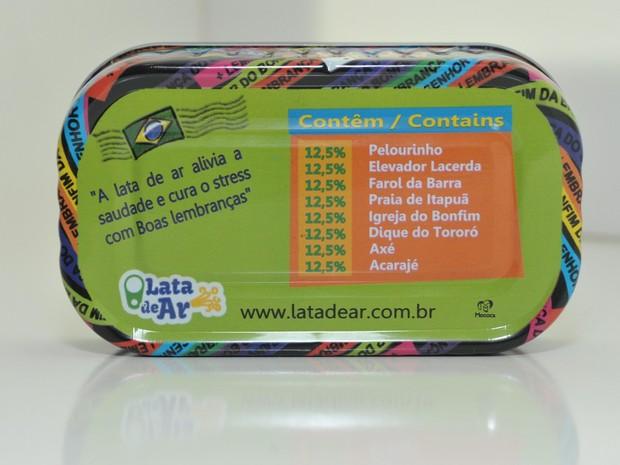 Latinhas ajudam os visitantes a relembrar dos principais pontos por onde passaram nas cidades (Foto: Divulgação)