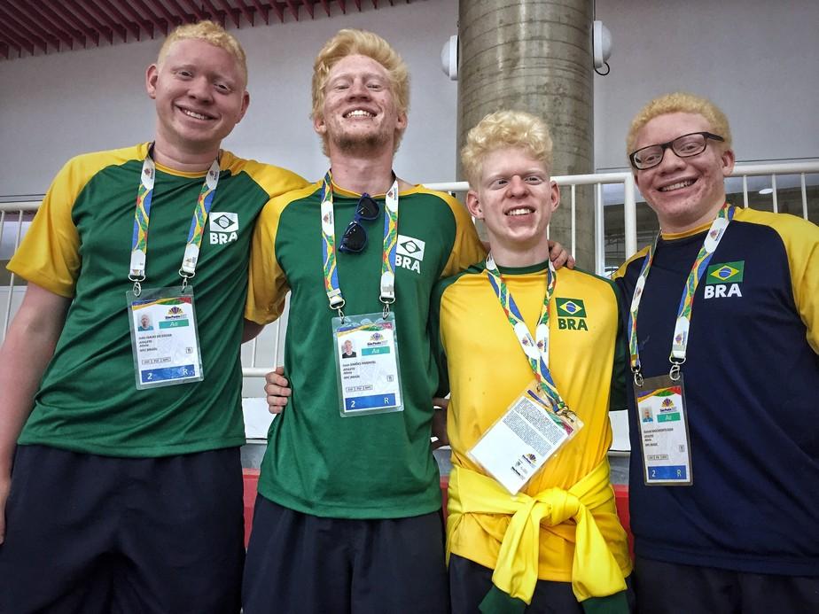 Quarteto albino brilha no Parapan de SP e renova esperanças do judô para 2020