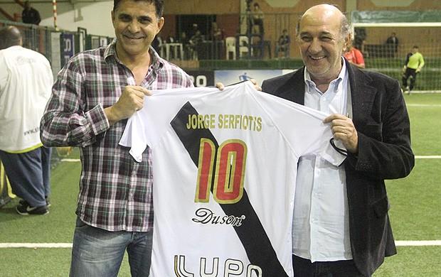 Ricardo Rocha Showbol Vasco (Foto: Ricardo Cassiano / Divulgação)