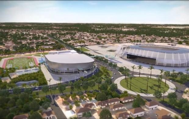 Cid Gomes dá aval para início das obras do Centro de Formação Olímpica (Foto: Divulgação)