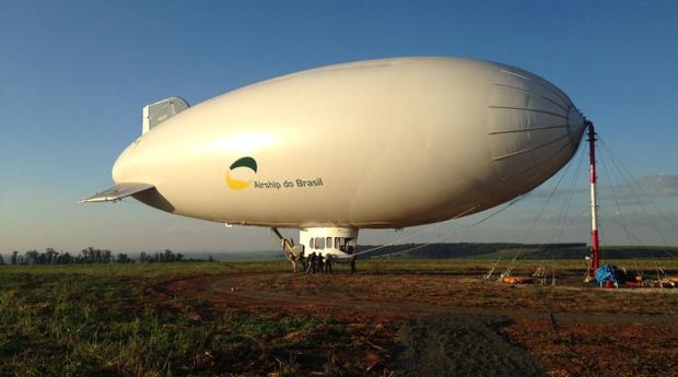 airship dirigível ADB 3-X01 (Foto: divulgação)