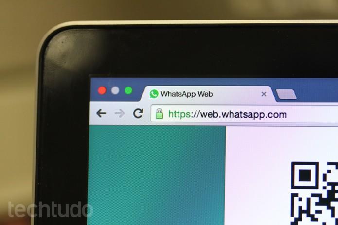 WhatsApp_Web_Tela_Faixa (Foto: Melissa Cruz / TechTudo)