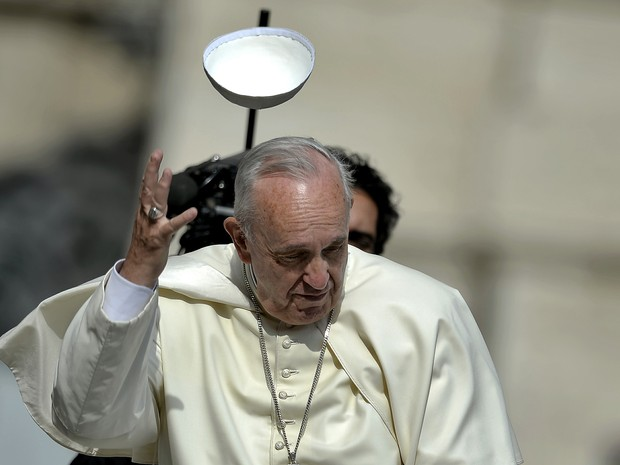 Papa admite a necessidade da separação do casal em alguns casos (Foto: Filippo Monteforte/AFP)
