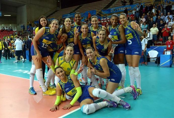 Brasil x Holanda Mundial vôlei feminino (Foto: Divulgação/FIBV)