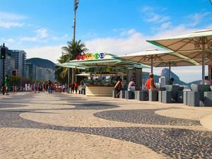 Quiosque da Globo em Copacabana receberá Jovens Tardes (Foto: Divulgação/ Textual)