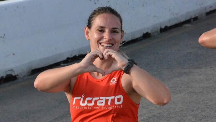 Psicóloga paraibana muda de vida Eu Atleta Meia Maratona Cabo Branco (Foto: Divulgação / Arquivo Pessoal)