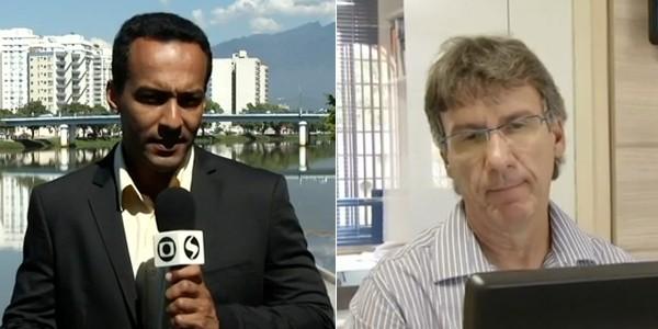 A produção da série é dos jorlistas: Vinícius Assis e Paulo Rocha (Foto: Reprodução RJTV 1ª Edição)