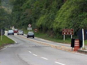Movimento rodovias feriado Juiz de Fora (Foto: Reprodução/TV Integração)