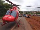 Mulher morre e homem fica em estado grave após colisão na GO-080