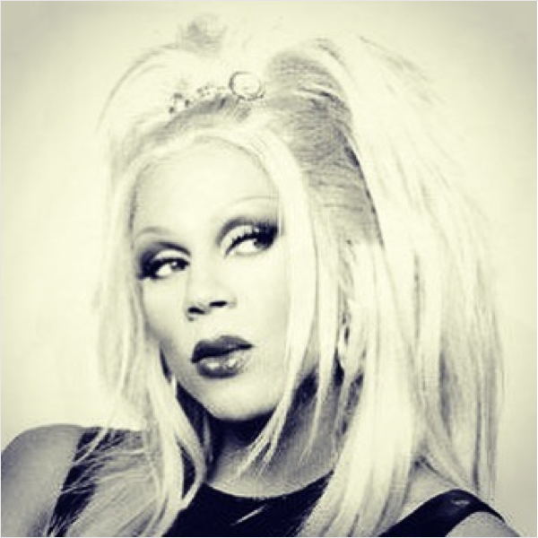A drag queen Ru Paul  (Foto: Instagram)