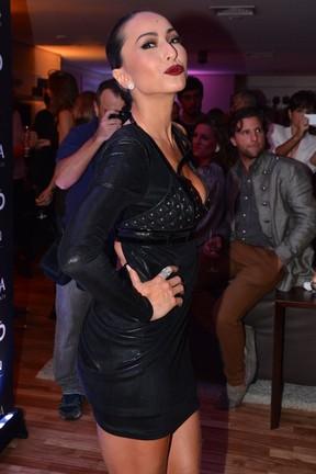 Sabrina Sato em festa em São Paulo (Foto: Caio Duran/ Foto Rio News)