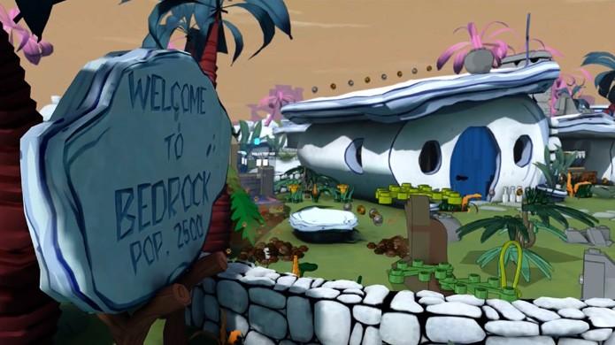 Fases baseadas em Flintstones e Jetsons são descobertas com a máquina do tempo de Doctor Who (Foto: Reprodução/YouTube)