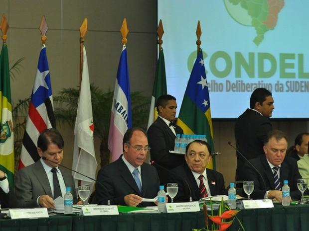 Ministro da Integração anunciou no Ceará, nesta sexta-feira (13), o recursos para amenizar efeitos da seca que afeta estados nordestinos (Foto: Ministério da Integração/Divulgação)