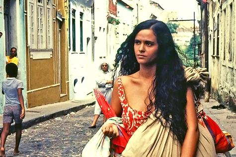 Denise Milfont em 'O pagador de promessas' (Foto: TV Globo)
