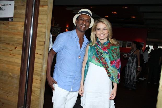 Luis Miranda e Claudia Abreu (Foto: Alex Palarea/Agnews)