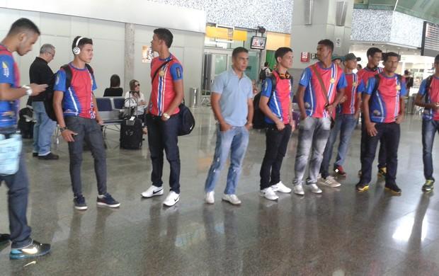 Equipe do Plácido de Castro já está no Tocantins (Foto: Adriano Fonseca/TV Anhanguera)