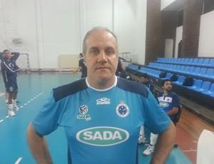 Maurício Mendez técnico Cruzeiro (Foto: Diego Alves)