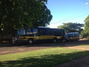 Polícia em MS prende dez suspeitos de embriaguez ao volante após festa (Foto: Tatiane Queiroz/G1 MS)