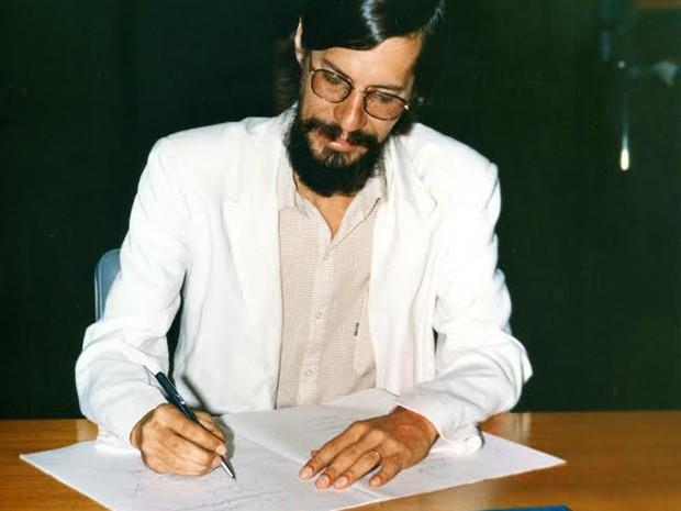 Eduardo Jorge como deputado federal constituinte em 1988 (Foto: Divulgação)