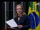 Impeachment no Senado: discurso final de Gleisi Hoffmann (PT-PR)