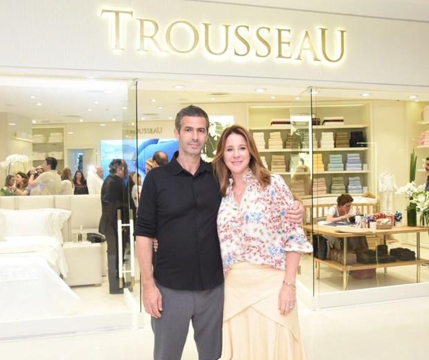 Romeu e Adriana Trussardi (Foto: Renato Wrobel/Divulgação)