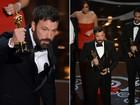 Ignorado como diretor, Ben Affleck fatura o Oscar de Melhor Filme