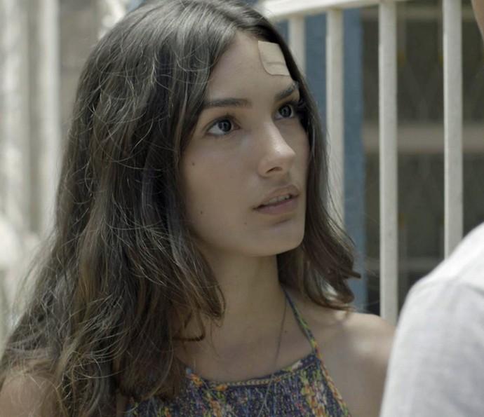 Luciana fica chocada com o rapaz (Foto: TV Globo)