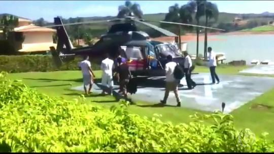 Governador de MG é alvo de críticas ao buscar filho com helicóptero oficial