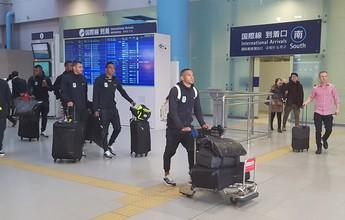 Após longa viagem, Atlético Nacional desembarca no Japão para o Mundial