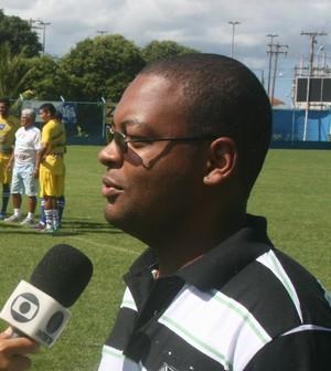 Diones Silva, Presidente do Quissamã (Foto: Site Quissamã)