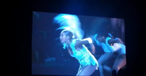 Show da Beyoncé em SP (Foto: Reprodução / Facebook)